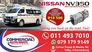Gearbox For Nissan NV350 Impendulo For Sale.