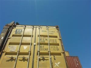 Sale on 6m (20ft) containers while stocks last