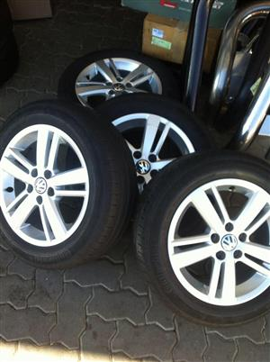Vw Polo 6 mags / Tsi  and Michelin tyres 15inch