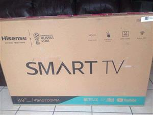 "Hisense 49"" Smart LED TV"