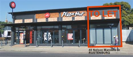 Shop To Let in Rustenburg Central Nelson Mandela Dr To Rent