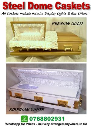 Coffins - Steel Dome Caskets