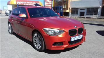 2013 BMW 1 Series 116i 5 door M Sport auto