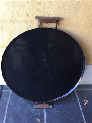 Weber Manturion Griddle – Fits 47cm &  57cm Charcoal Grills - perfect for camping