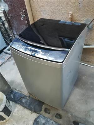 Defy 16kg top loader washing machine.