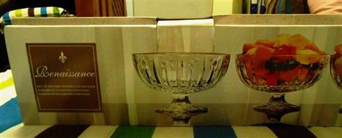 Renaissance Elegant Glassware serving bowls for sale