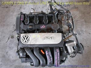 VOLKSWAGEN BLR 2.0L FSI DOHC 16V Engine -PASSAT 5