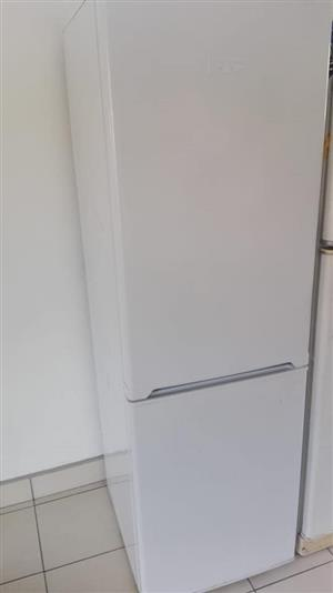 White fridge with bottom freezer
