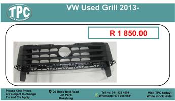 Vw Used Grill 2013- For Sale.