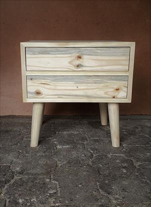 Night stand Farmhouse series 600 square - Raw