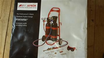 NEW Afrox Portapak complete in the box for sale