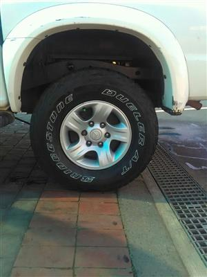 "15"" Rims & Tires/Camping Trailer & Gas Frdige/Complete CCTv Surveillance system"