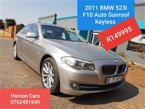 2011 BMW 5 Series 523i Exclusive steptronic