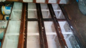 second-hand canarie breeders cages for sale