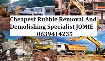 RUBBLE REMOVAL..TLB HIRE around in Gauteng
