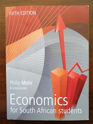 Economics for South African Students 5th edition for sale  Milnerton