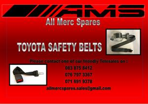TOYOTA SAFETY BELTS FOR SALE