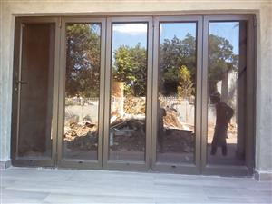 5 sets of Aluminium Stack doors