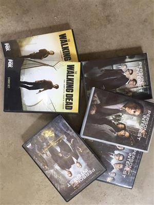 Walking dead and person of interest for sale