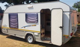 2008 Jurgens Classique Caravan in mint condition.