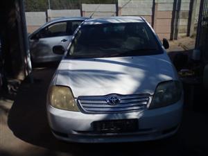 2003 Toyota Corolla 180i GSX automatic