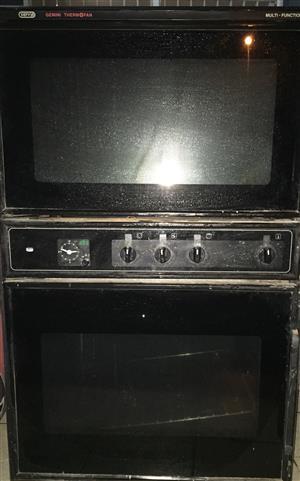 Defy Gemini double thermofan oven