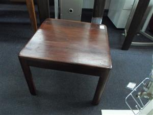2x Wooden Coffee / Side Tables