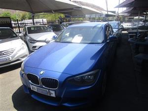 2014 BMW 1 Series 125i 3 door