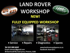 Land Rover Workshop - Service and Repair | AUTO EZI