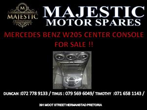 MERCEDES BENZ W205 CENTER CONSOLE