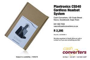 Plantronics CS540 Cordless Headset System