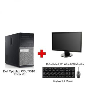 Refurbished Dell Optiplex 990 / 9010 Tower PC