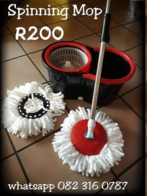 Magic Spinning Mop with bucket