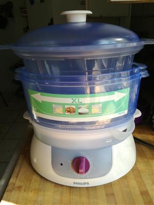 Philips 3 Tier XL Food Steamer