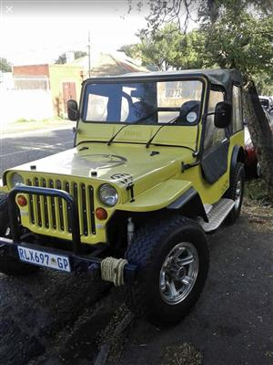 Willy Jeep replica