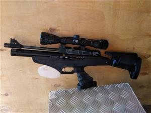 Hatsan AT P2 pcp air rifle.