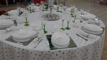 for all your catering services and decor service