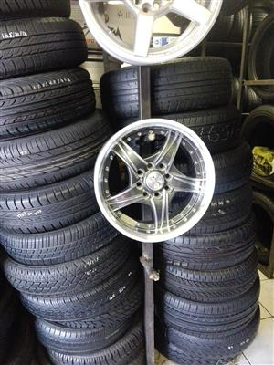 We are selling and buying Good used second hand tyres and mags,stardard steal