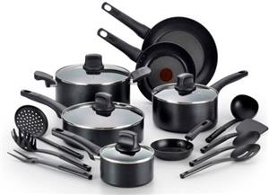 Tefal 18pc (C505SI64) Non stick Cookware Set