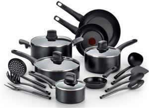 Tefal 18pc (C505SI64) Non stick Cookware Set