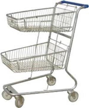 New Double Baskets Trolly