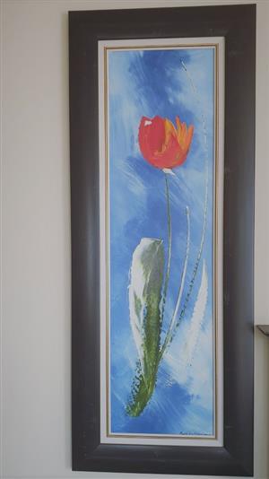 Genuine Paul van Rensburg Paintings