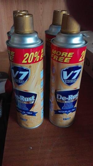V7 De Rust spray for sale