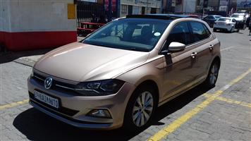 2018 VW Polo hatch POLO 1.0 TSI COMFORTLINE