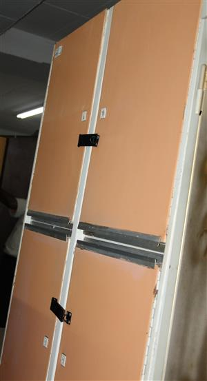 6 door steel kitchen cabinet S031310F #Rosettenvillepawnshop