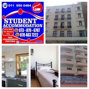 Student Accommodation in Johannesburg and Braamfontein No Deposit
