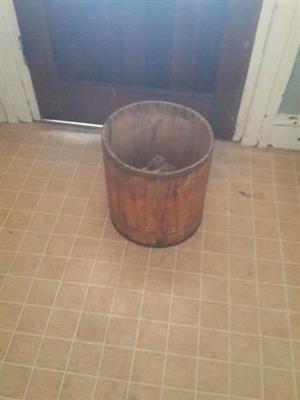 Wooden Bin - Farm Style