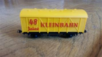 Yellow 48 Klein bahn model train