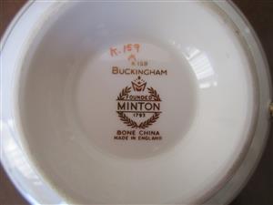 MINTON DINNER SERVICE - BUCKINGHAM DESIGN
