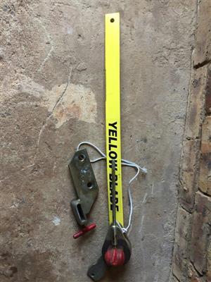 Yellow Blade Stabilizer for Caravan